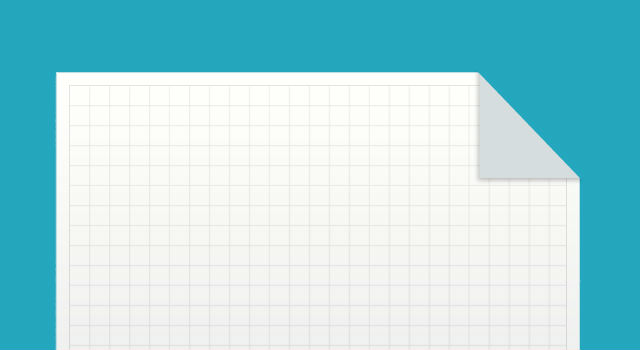 Printable graph paper template